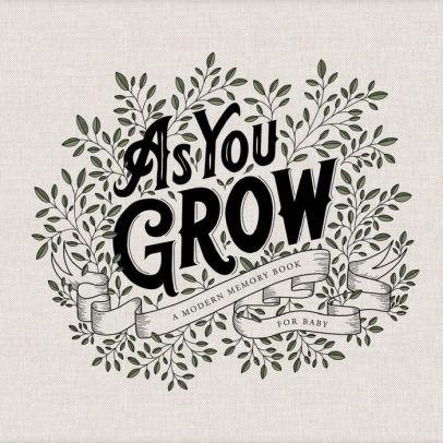 As You Grow Baby Book