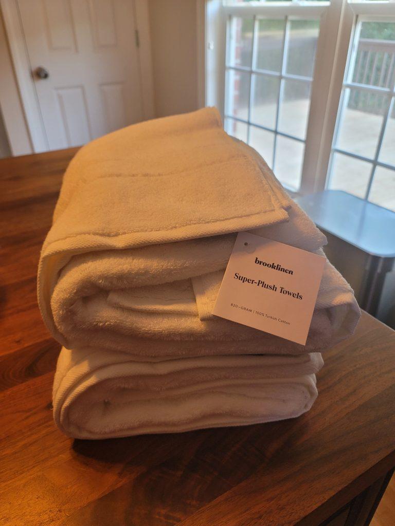 Brooklinen Super-Plush Towels
