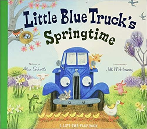 Little Blue Truck's Springtime Easter Book