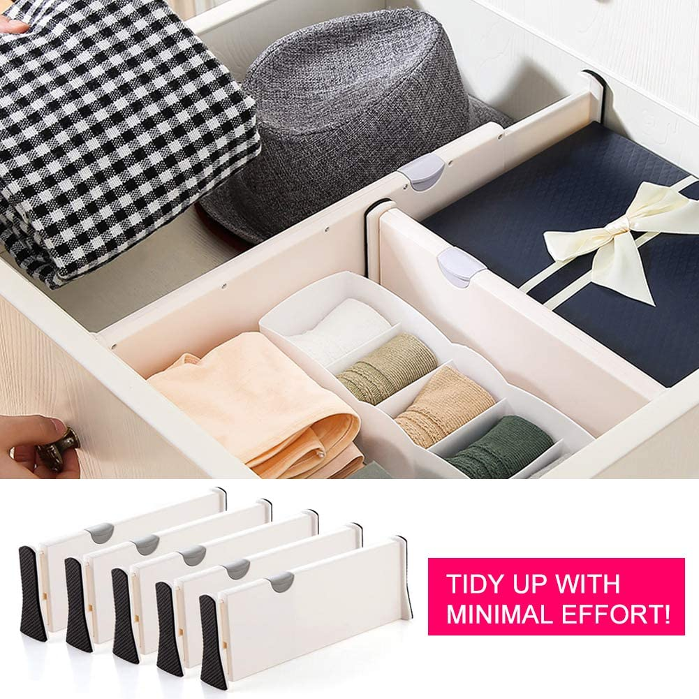 Drawer dividers for organizing nursery
